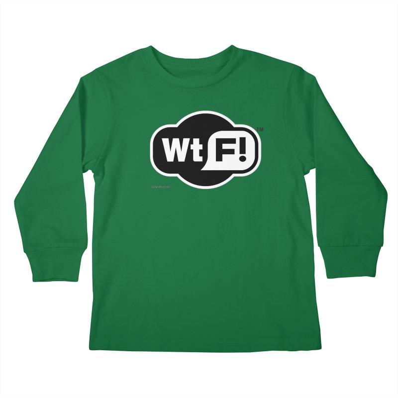 WTF! Kids Longsleeve T-Shirt by Zachary Knight | Artist Shop