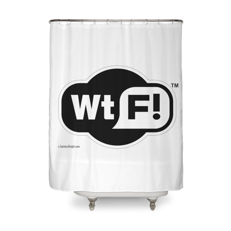 WTF! Home Shower Curtain by Zachary Knight | Artist Shop