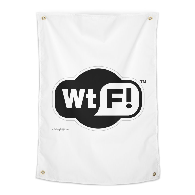 WTF! Home Tapestry by Zachary Knight | Artist Shop