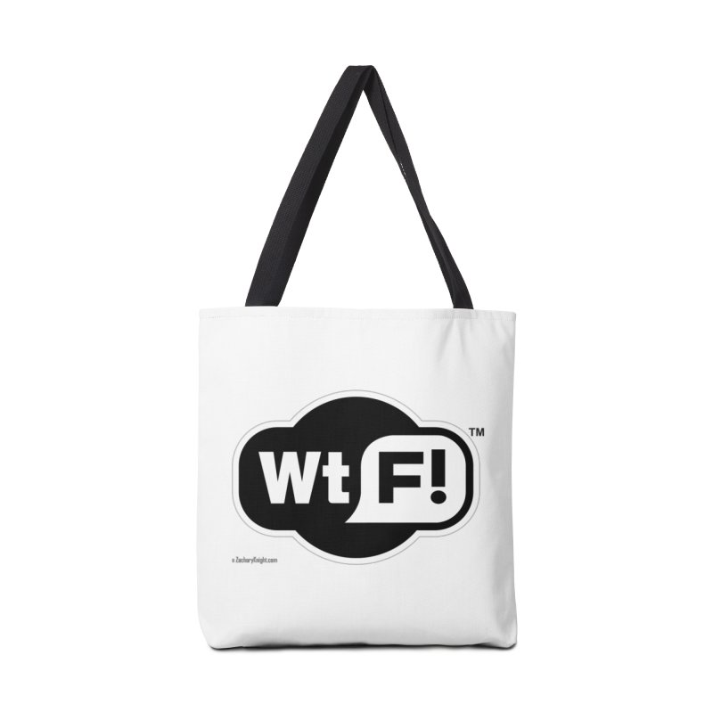 WTF! Accessories Bag by Zachary Knight | Artist Shop