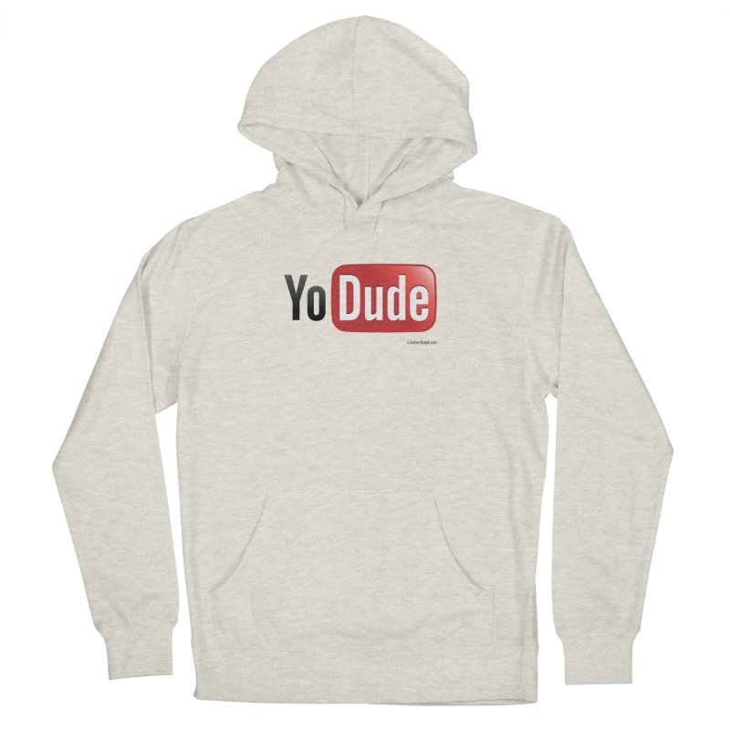 YoDude Women's French Terry Pullover Hoody by Zachary Knight | Artist Shop
