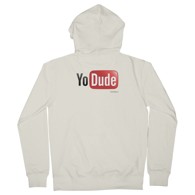 YoDude Men's Zip-Up Hoody by Zachary Knight | Artist Shop