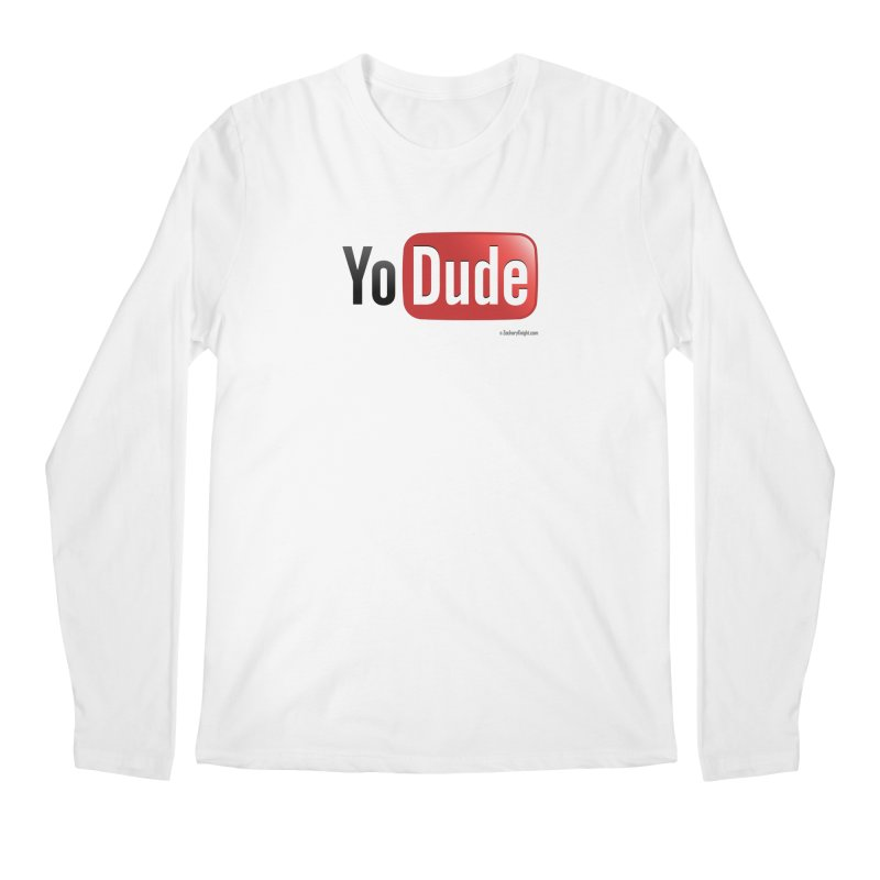 YoDude Men's Regular Longsleeve T-Shirt by Zachary Knight | Artist Shop