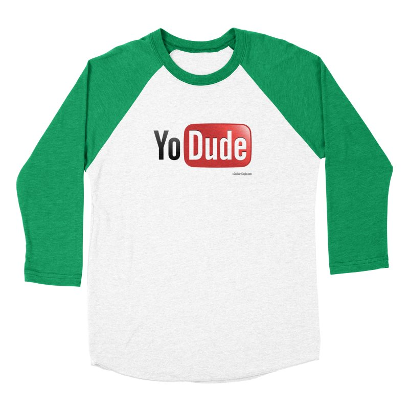 YoDude Women's Baseball Triblend Longsleeve T-Shirt by Zachary Knight | Artist Shop