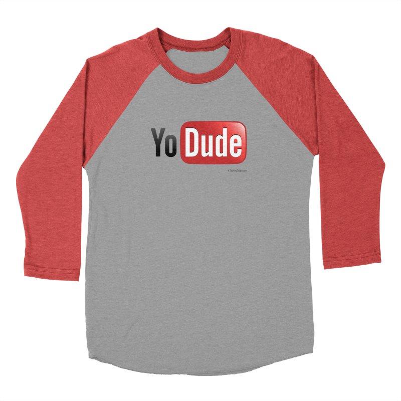 YoDude Women's Baseball Triblend Longsleeve T-Shirt by Zachary Knight | Artist Shop