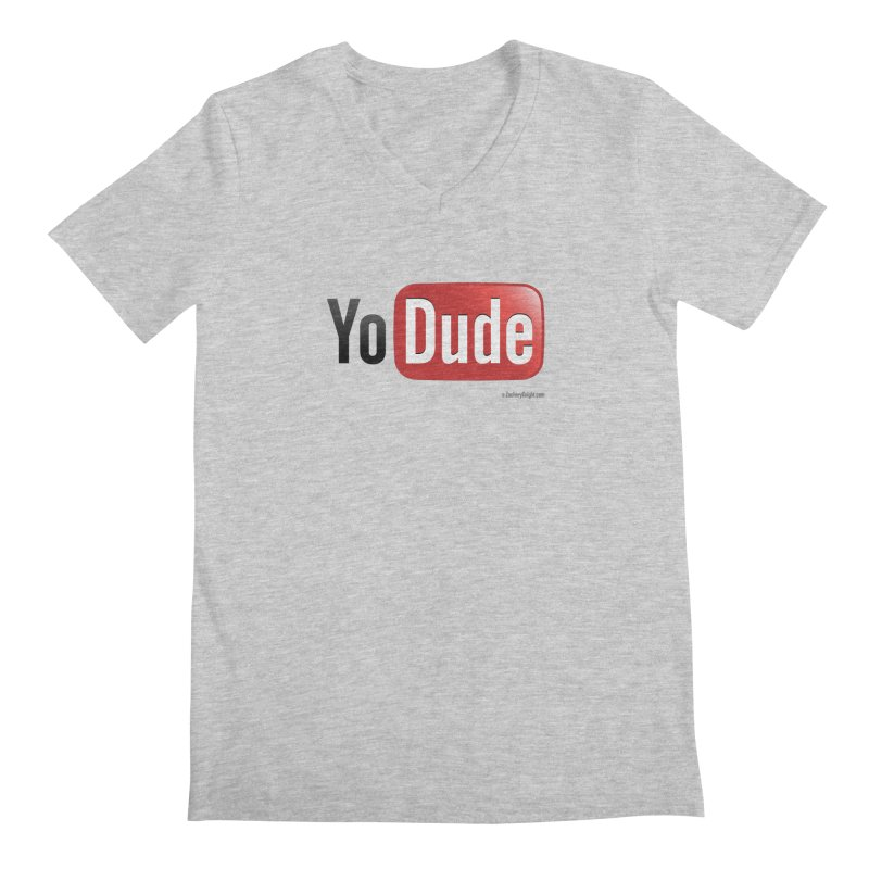 YoDude Men's Regular V-Neck by Zachary Knight | Artist Shop