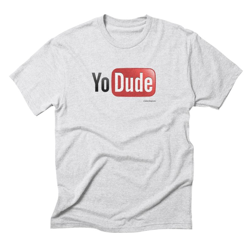 YoDude Men's Triblend T-shirt by Zachary Knight | Artist Shop