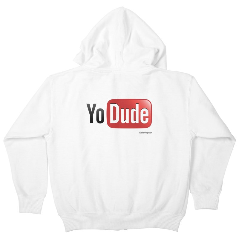 YoDude Kids Zip-Up Hoody by Zachary Knight | Artist Shop