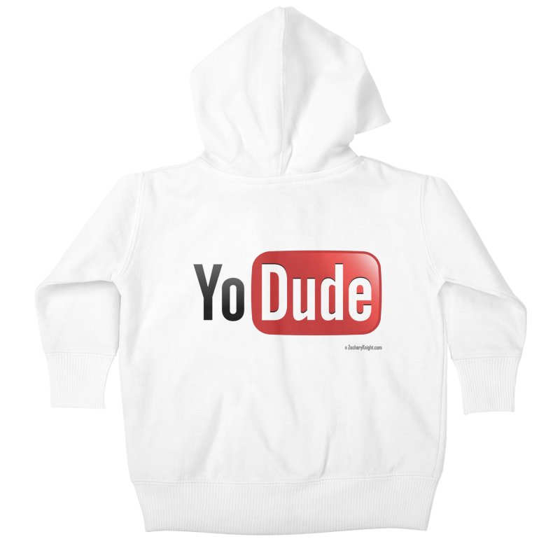 YoDude Kids Baby Zip-Up Hoody by Zachary Knight | Artist Shop