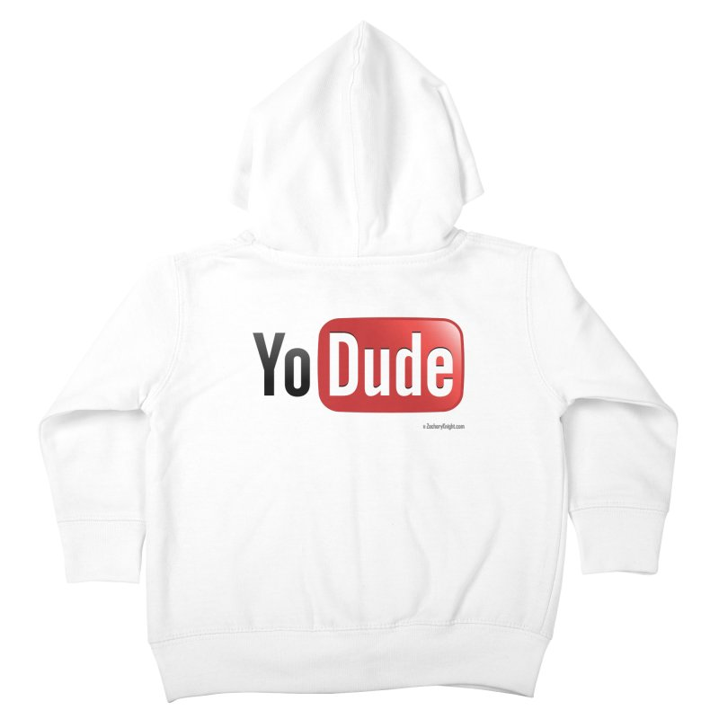 YoDude Kids Toddler Zip-Up Hoody by Zachary Knight | Artist Shop