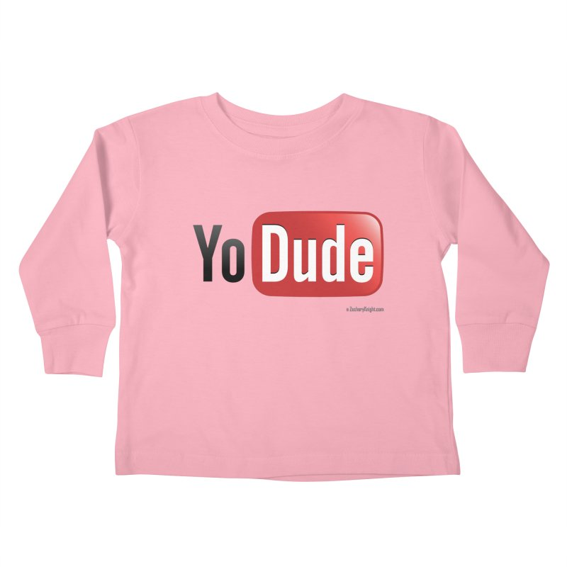 YoDude Kids Toddler Longsleeve T-Shirt by Zachary Knight | Artist Shop