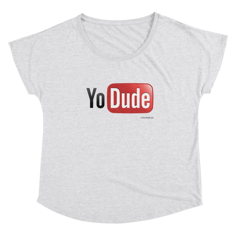 YoDude Women's Dolman Scoop Neck by Zachary Knight | Artist Shop