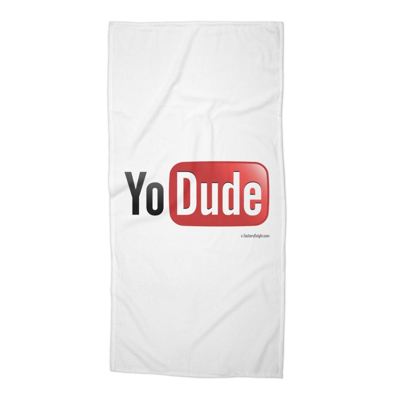 YoDude Accessories Beach Towel by Zachary Knight | Artist Shop