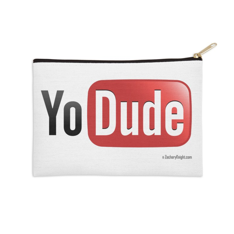 YoDude Accessories Zip Pouch by Zachary Knight | Artist Shop