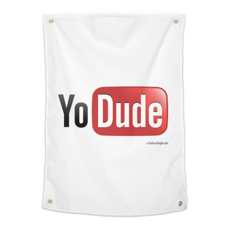 YoDude Home Tapestry by Zachary Knight | Artist Shop