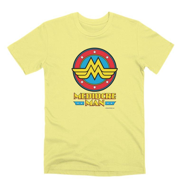 Mediocre Man! Men's Premium T-Shirt by Zachary Knight   Artist Shop