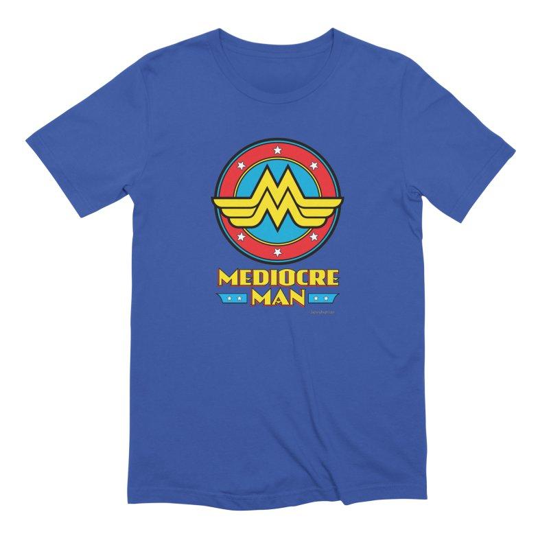 Mediocre Man! Men's Extra Soft T-Shirt by Zachary Knight   Artist Shop
