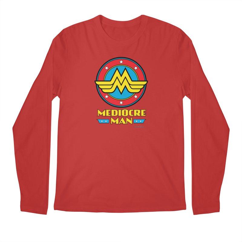 Mediocre Man! Men's Regular Longsleeve T-Shirt by Zachary Knight | Artist Shop
