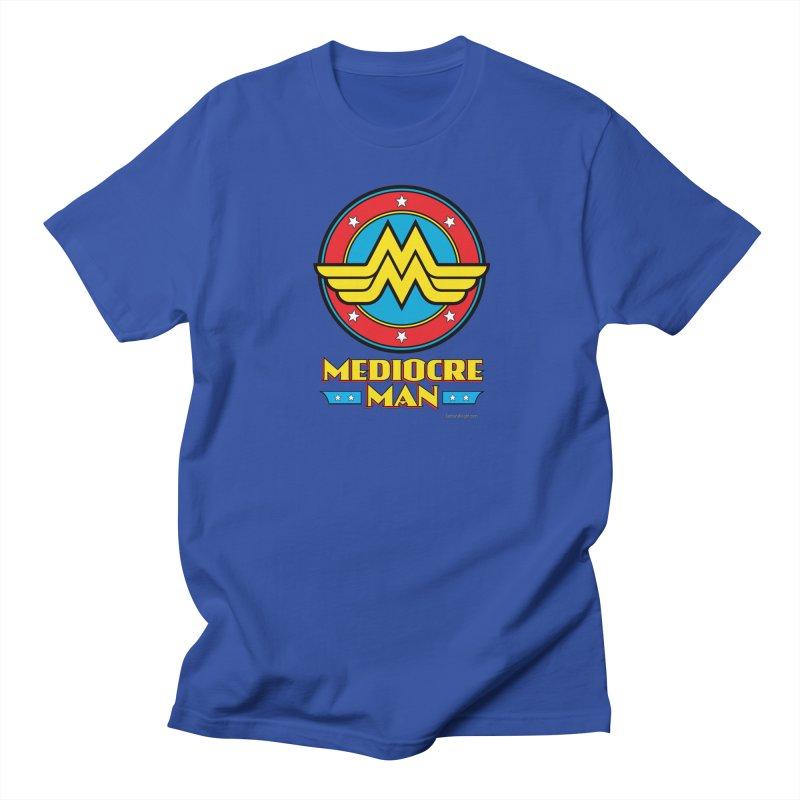 Mediocre Man! Men's Regular T-Shirt by Zachary Knight | Artist Shop