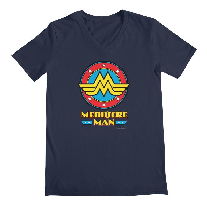 Mediocre Man! Men's V-Neck by Zachary Knight | Artist Shop