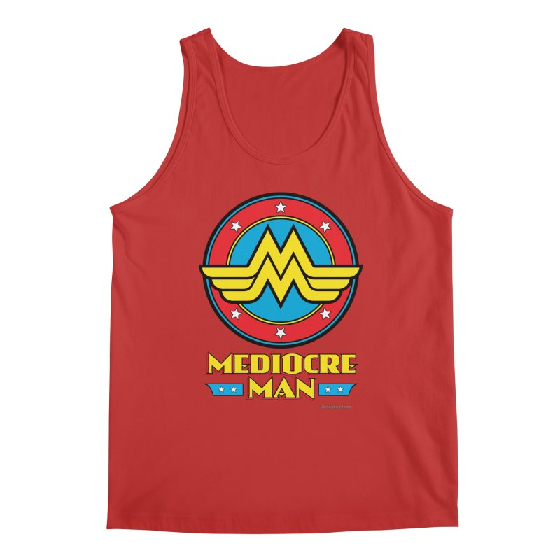 Mediocre Man! Men's Regular Tank by Zachary Knight | Artist Shop