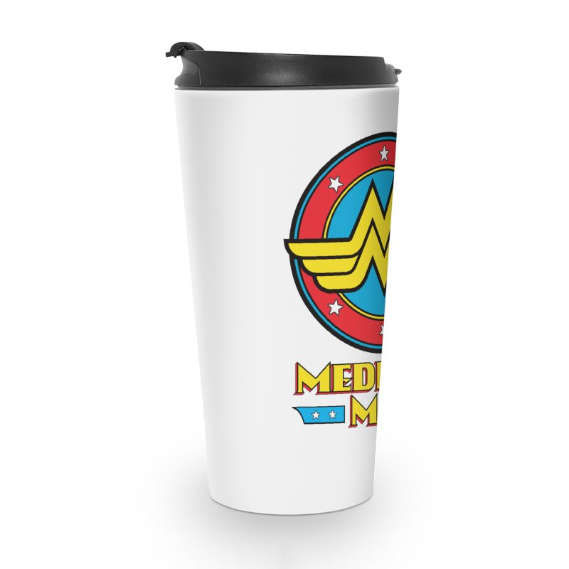 Mediocre Man! Accessories Travel Mug by Zachary Knight | Artist Shop