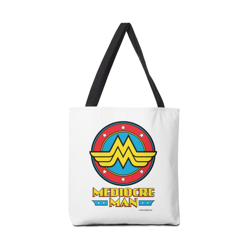 Mediocre Man! Accessories Bag by Zachary Knight | Artist Shop