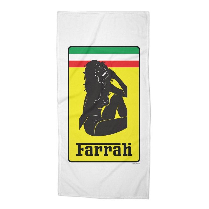 Farrah Accessories Beach Towel by Zachary Knight | Artist Shop