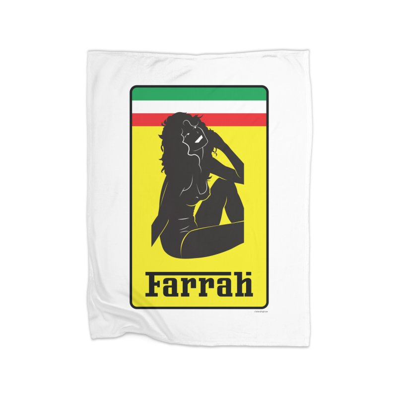 Farrah Home Fleece Blanket Blanket by Zachary Knight | Artist Shop