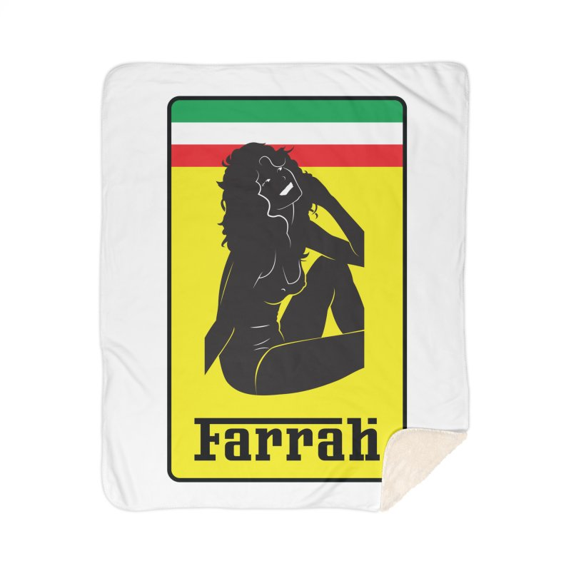 Farrah Home Sherpa Blanket Blanket by Zachary Knight | Artist Shop