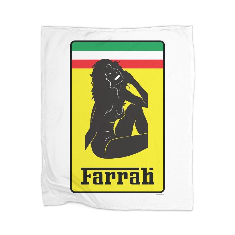 Farrah Home Blanket by Zachary Knight | Artist Shop