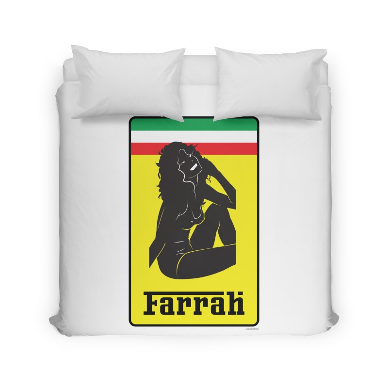 Farrah Home Duvet by Zachary Knight | Artist Shop