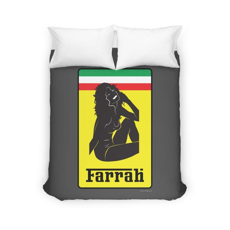 Farrah Home Duvet by Zachary Knight   Artist Shop