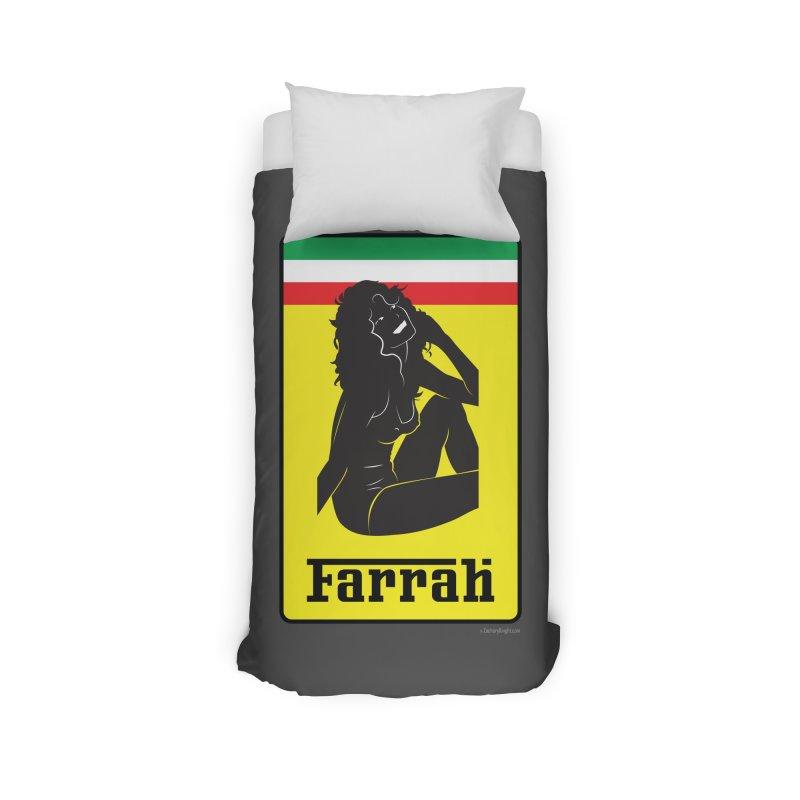 Farrah Home Duvet by Zachary Knight | Artist Shop