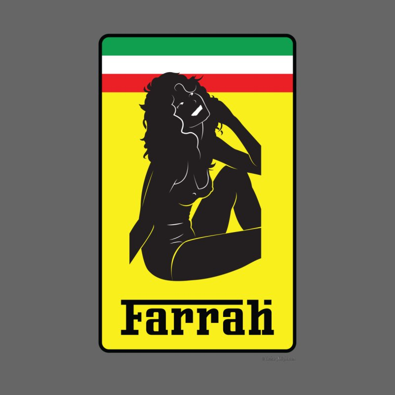 Farrah Accessories Sticker by Zachary Knight | Artist Shop