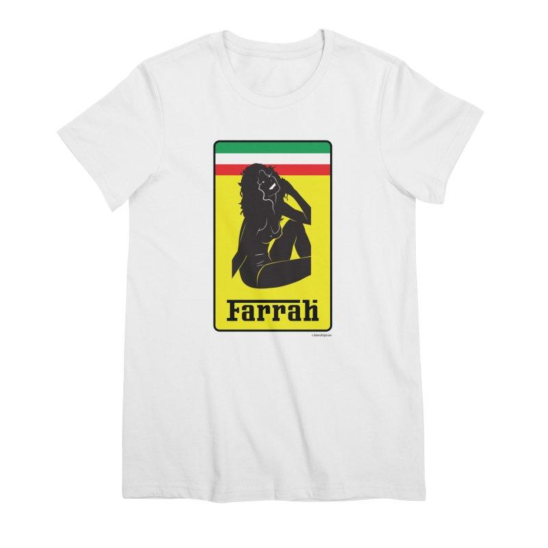 Farrah Women's Premium T-Shirt by Zachary Knight | Artist Shop