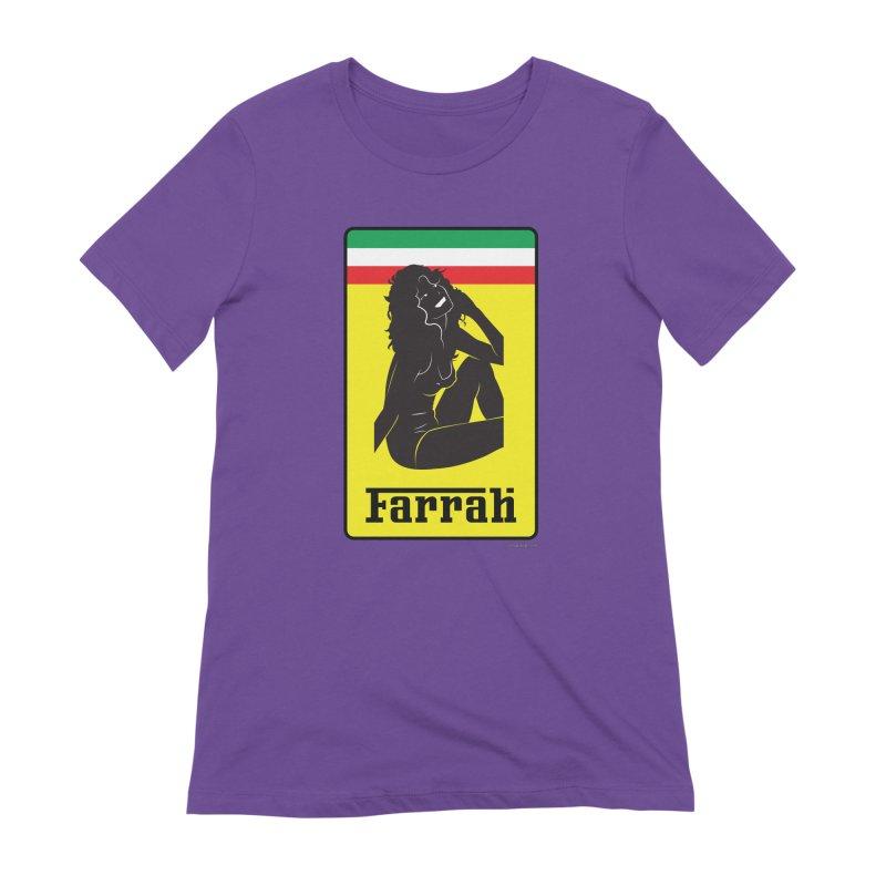 Farrah Women's Extra Soft T-Shirt by Zachary Knight   Artist Shop