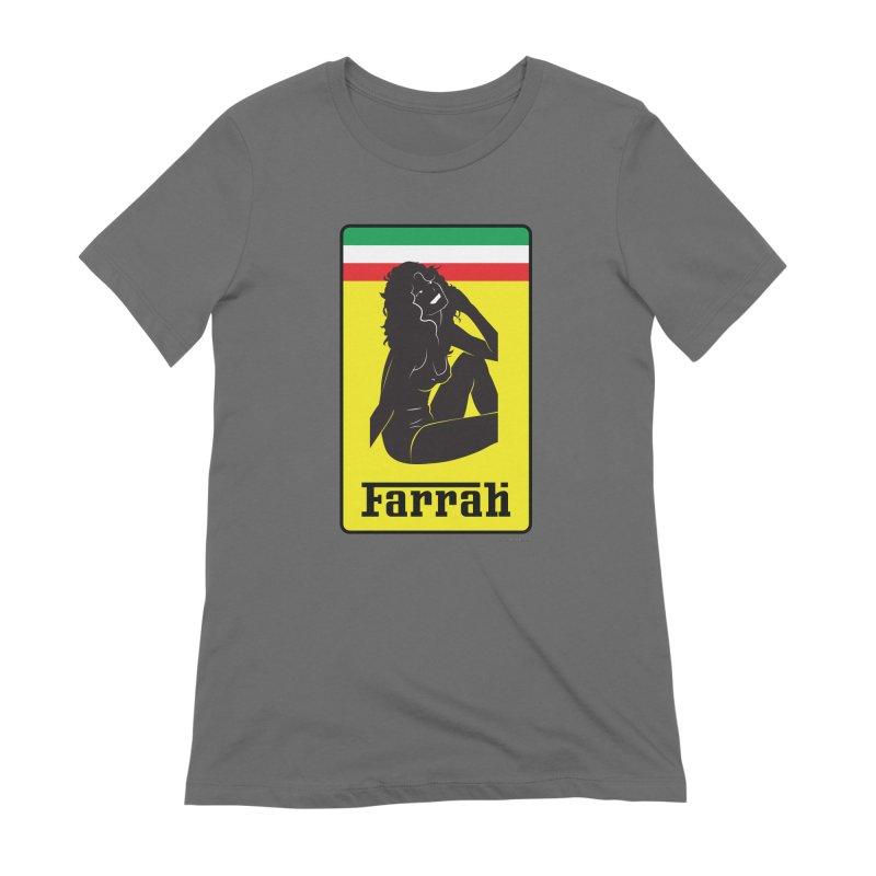 Farrah Women's T-Shirt by Zachary Knight | Artist Shop