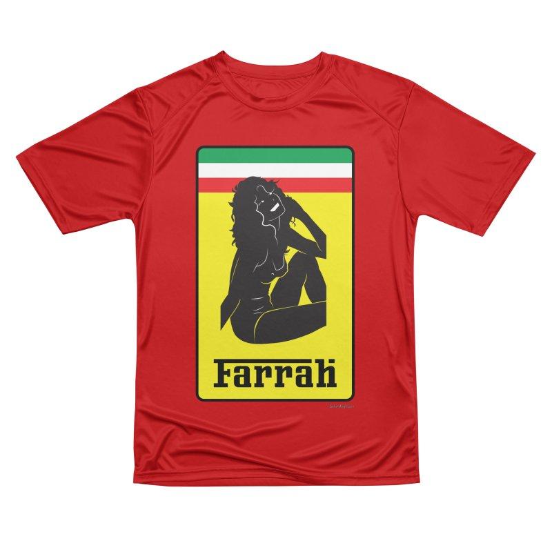 Farrah Women's Performance Unisex T-Shirt by Zachary Knight | Artist Shop