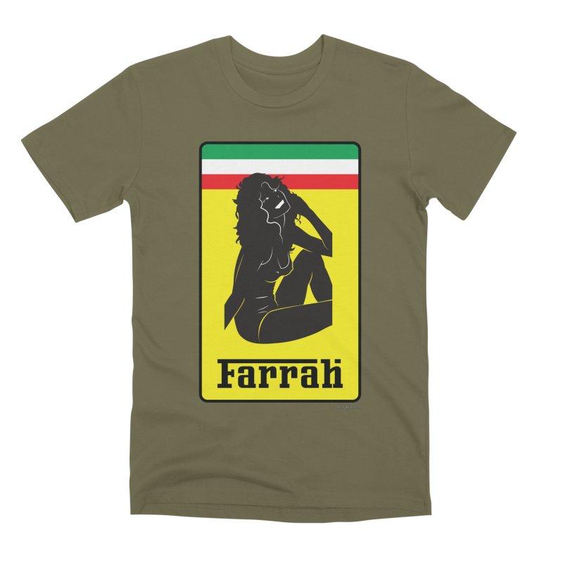 Farrah Men's Premium T-Shirt by Zachary Knight | Artist Shop