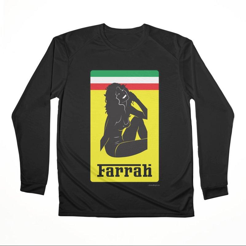 Farrah Women's Performance Unisex Longsleeve T-Shirt by Zachary Knight | Artist Shop