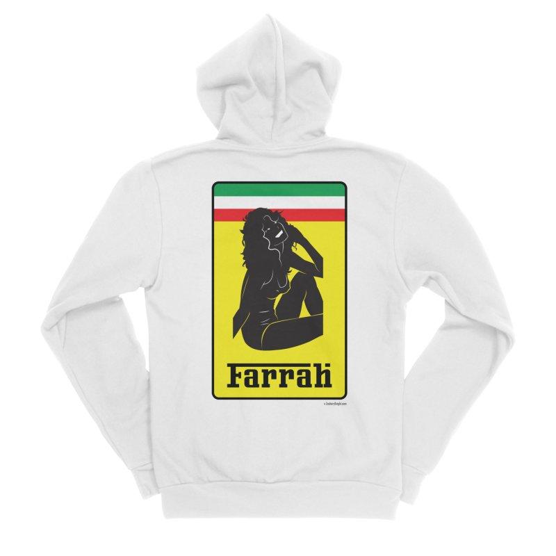 Farrah Men's Sponge Fleece Zip-Up Hoody by Zachary Knight | Artist Shop