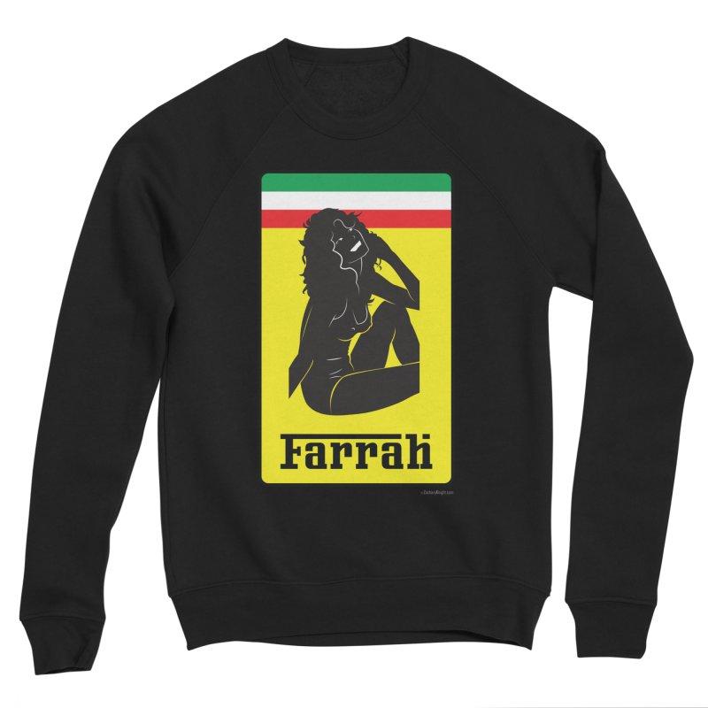 Farrah Men's Sponge Fleece Sweatshirt by Zachary Knight | Artist Shop
