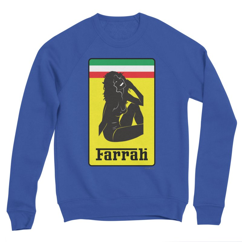 Farrah Men's Sweatshirt by Zachary Knight | Artist Shop