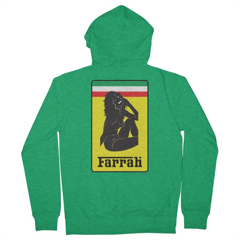 Farrah Men's Zip-Up Hoody by Zachary Knight | Artist Shop