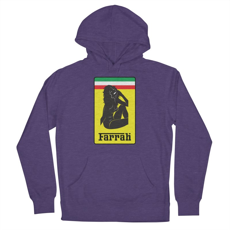 Farrah Men's French Terry Pullover Hoody by Zachary Knight | Artist Shop