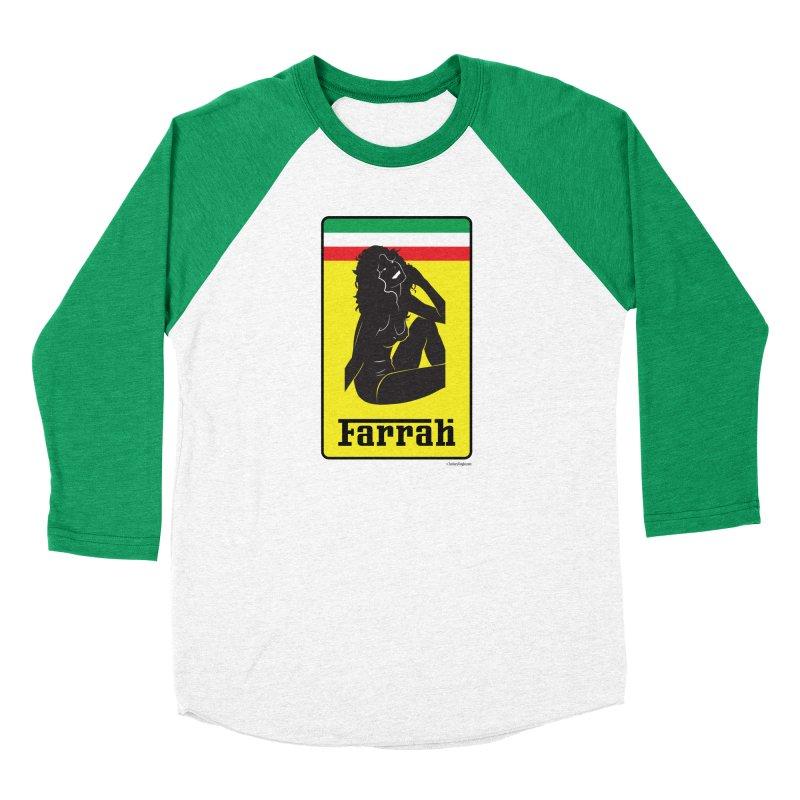 Farrah Men's Baseball Triblend Longsleeve T-Shirt by Zachary Knight | Artist Shop