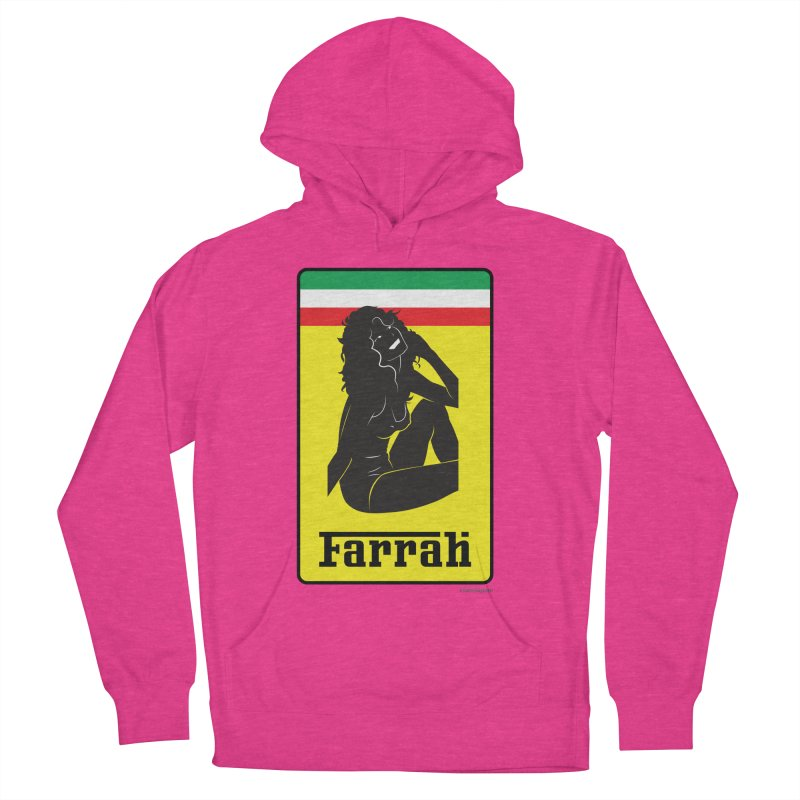 Farrah Women's French Terry Pullover Hoody by Zachary Knight | Artist Shop