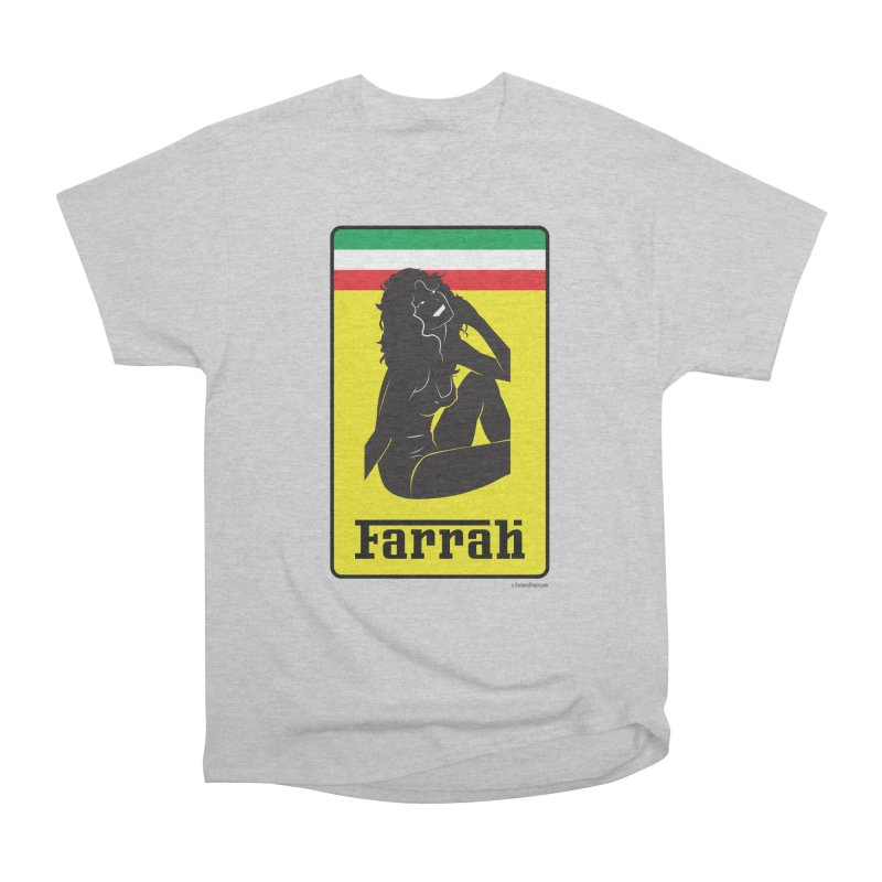 Farrah Women's Heavyweight Unisex T-Shirt by Zachary Knight | Artist Shop