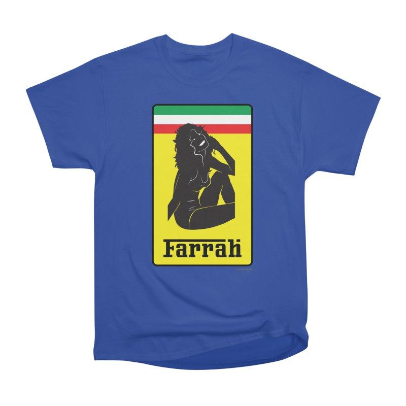 Farrah Men's Heavyweight T-Shirt by Zachary Knight | Artist Shop